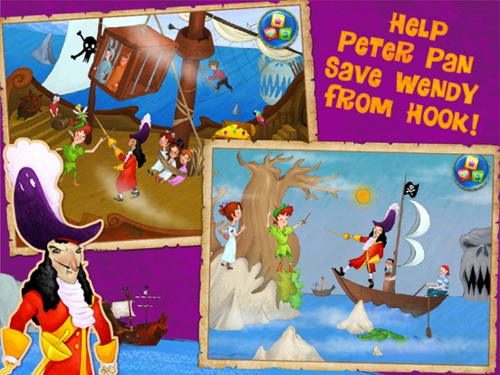 Peter Pan Adventures - The Classic Fairy Tale Storybook screenshot