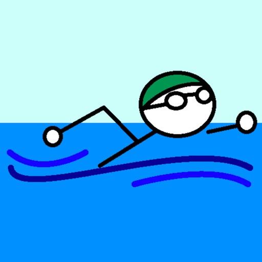Stickman Swimming Lite
