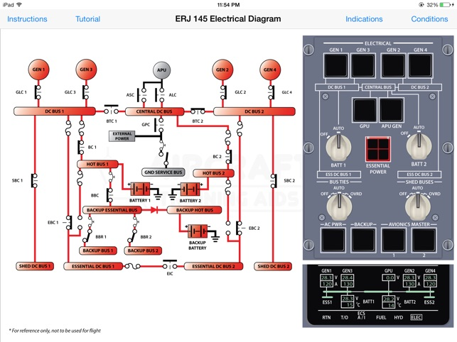 erj 145 electrical diagram on the app store rh itunes apple com Home Electrical Wiring Diagrams electrical diagram app for ipad