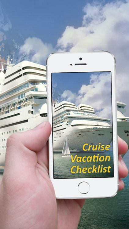 Cruise Vacation Checklist screenshot-0