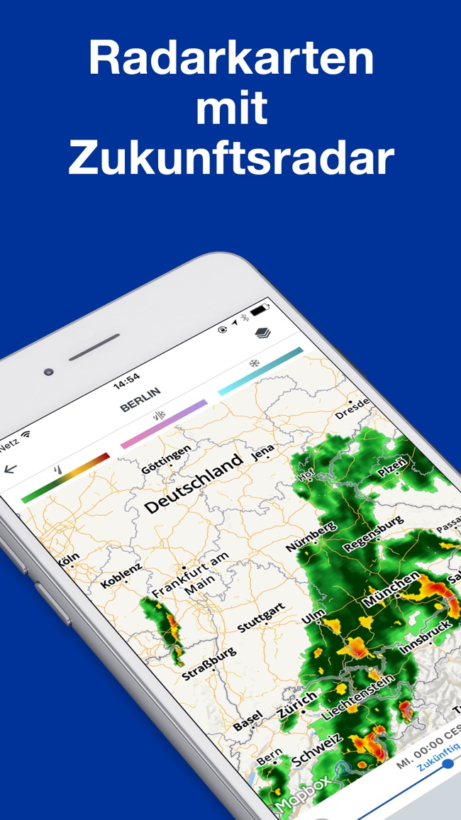 Wetter: The Weather Channel Screenshot