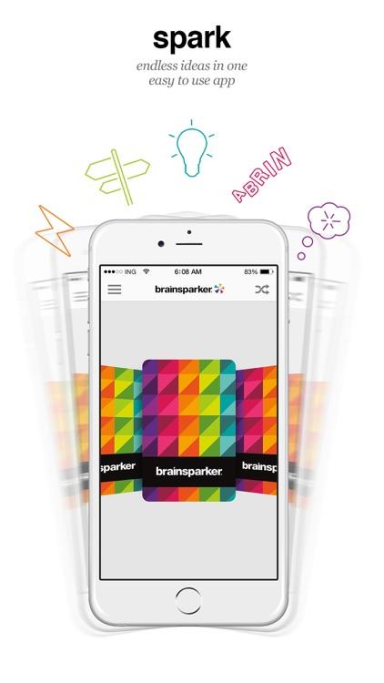Brainsparker Creativity Cards
