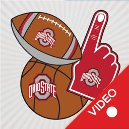 Ohio State Buckeyes Animated Selfie Stickers
