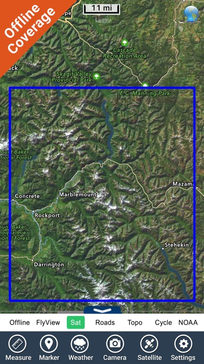 North Cascades National Park - GPS Map Navigator screenshot-4