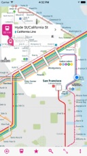 San Francisco Rail Map Lite On The App Store - San francisco rail map