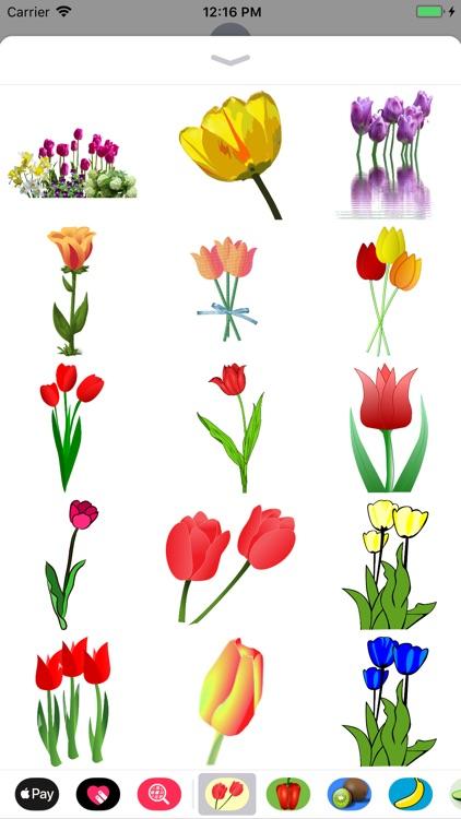 Terrific Tulip Stickers screenshot-3