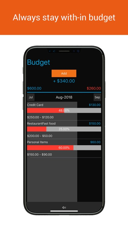 Home Budget Manager Lite screenshot-4