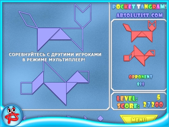 Игра Pocket Tangrams