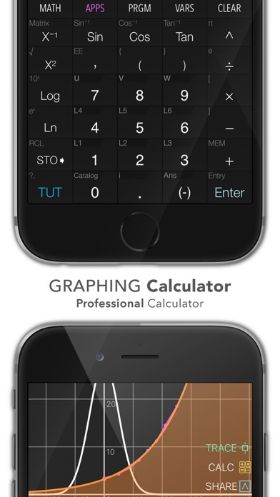 Screenshot for Graphing Calculator Plus in Thailand App Store