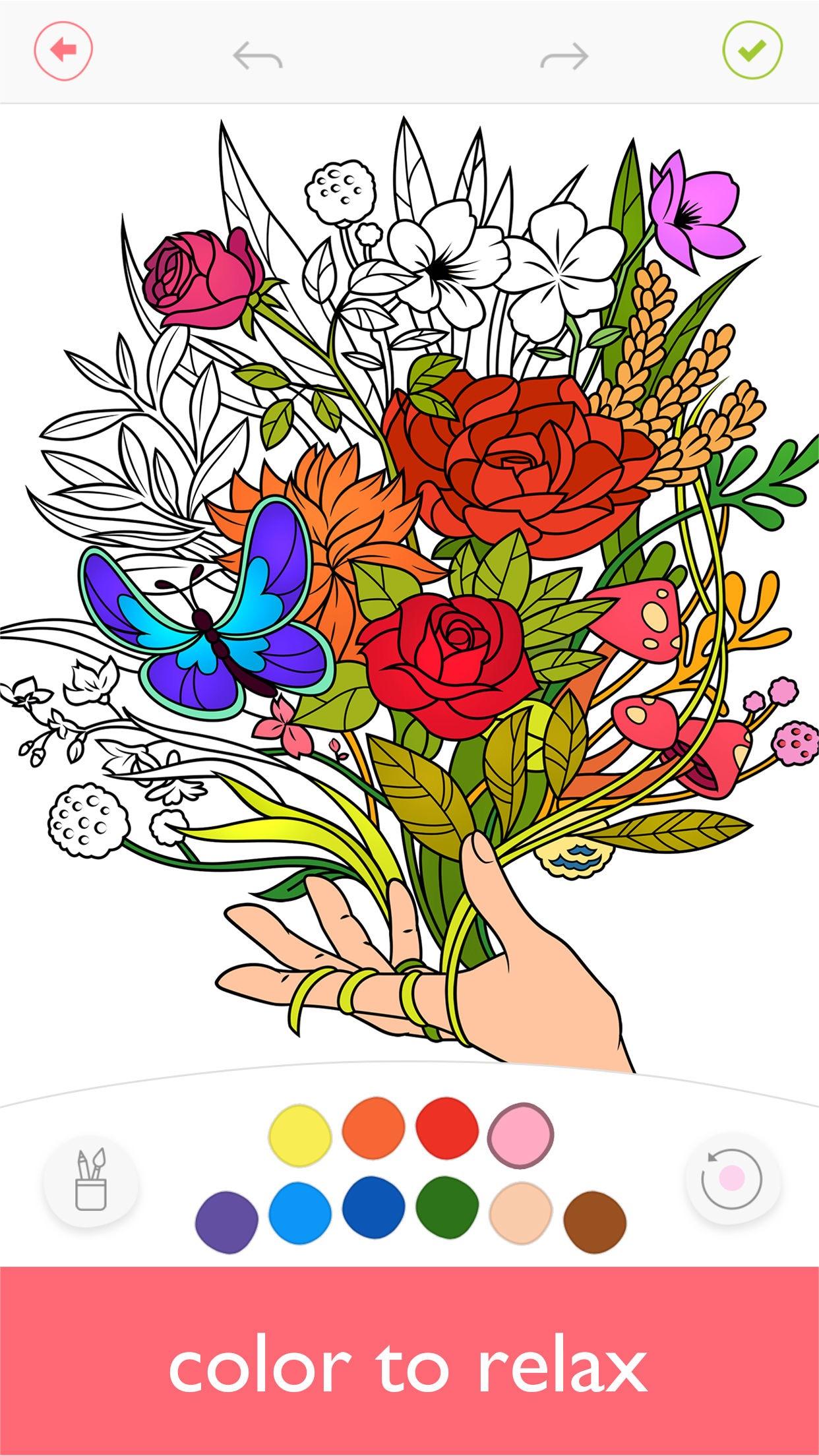 Colorfy: Coloring Art Games Screenshot