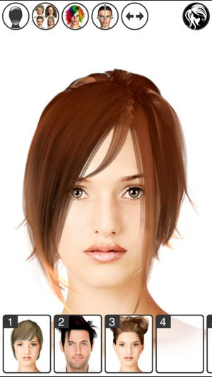 Hairstyle Magic Mirror Lite On The App Store