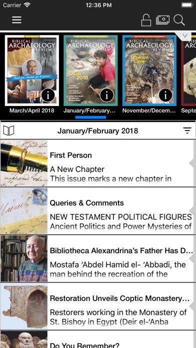 Biblical Archaeology Review review screenshots