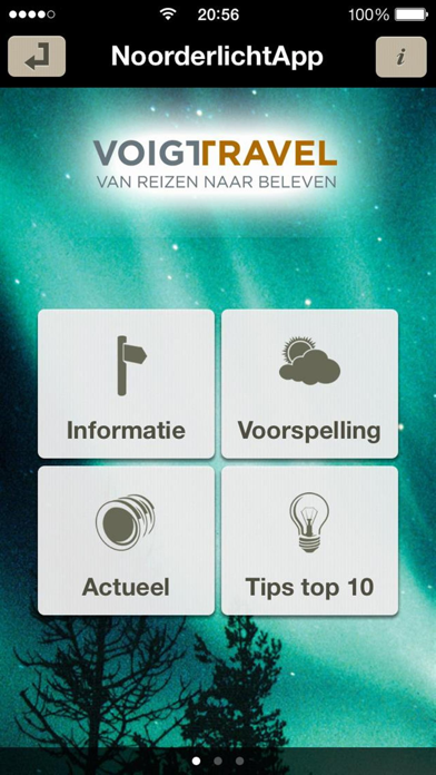 NoorderlichtApp screenshot one
