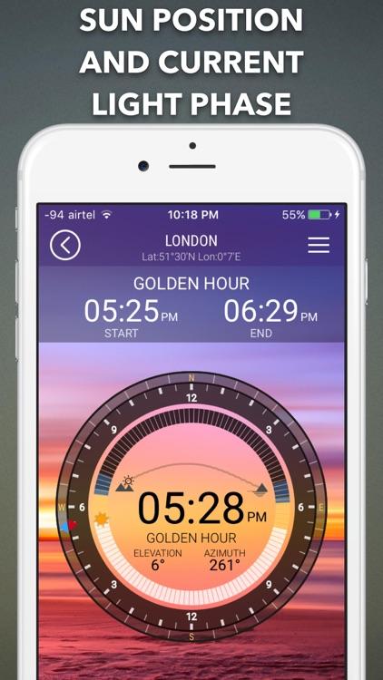 SunIZup - Golden Hour Photos screenshot-0