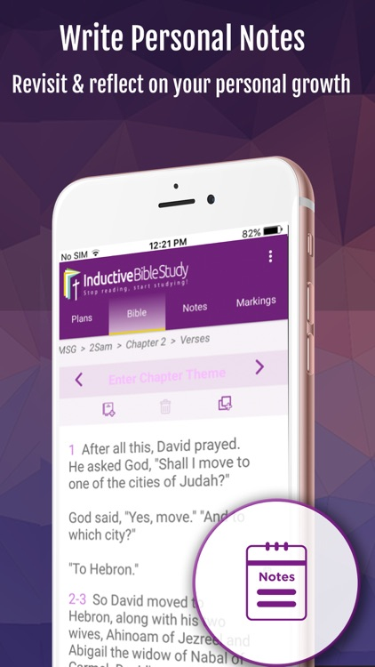 Inductive Bible Study & Videos screenshot-3