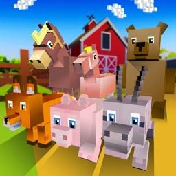 Blocky Animals World