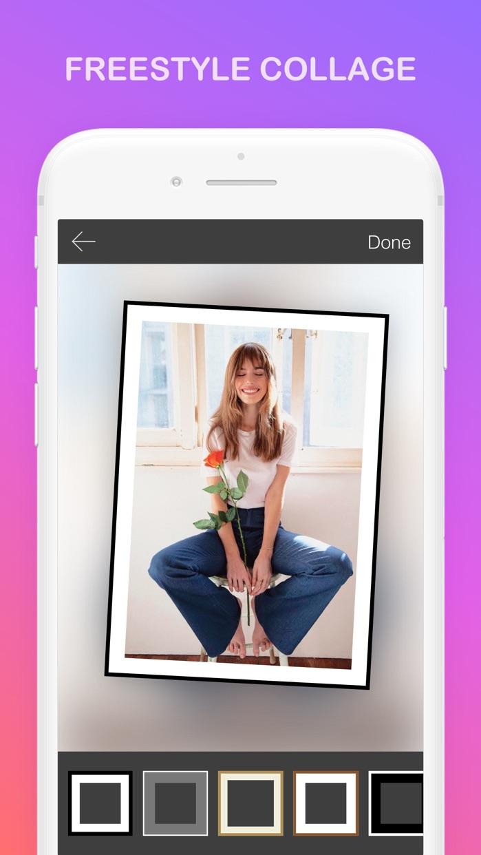 Mixoo - Pic Collage, Layout Screenshot