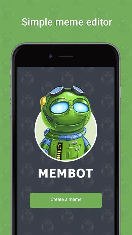Membot - create memes