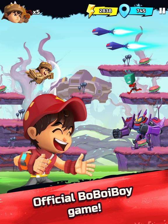 BoBoiBoy Galaxy Run screenshot 6