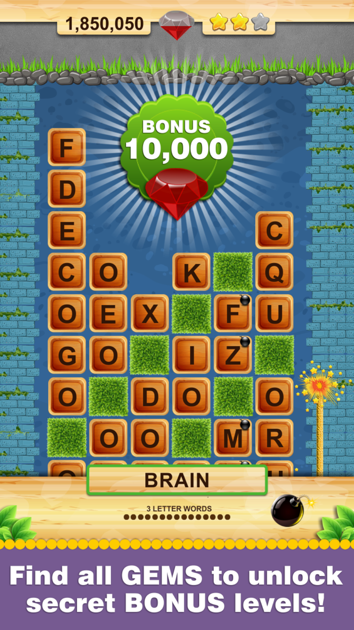 Word Wow - Help a worm out! Screenshot
