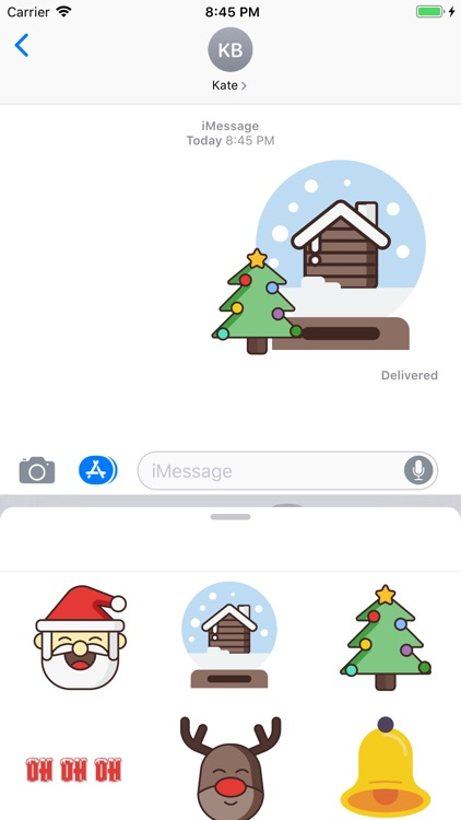 Christmas Stickers And Phrases