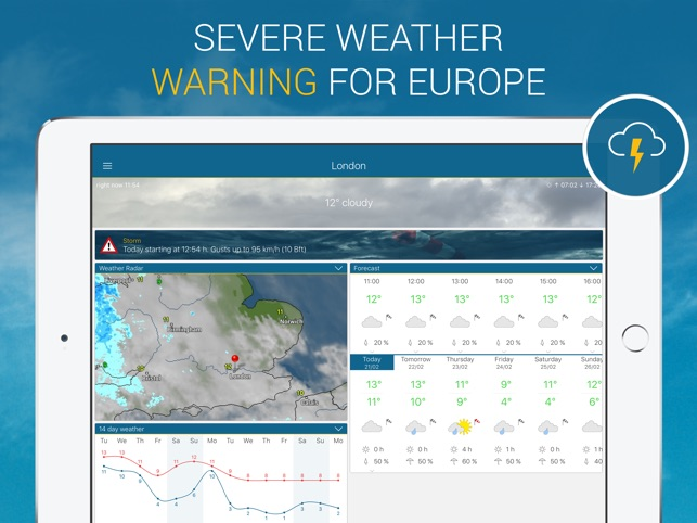 Weather & Radar Screenshot