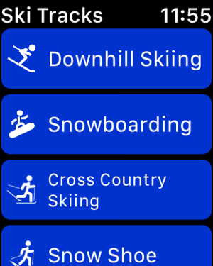 Ski Tracks Screenshot