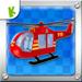 消防救援直升机-拼图早教游戏