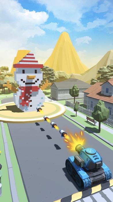 Fire Ball: Shoot Voxel Blast! screenshot one