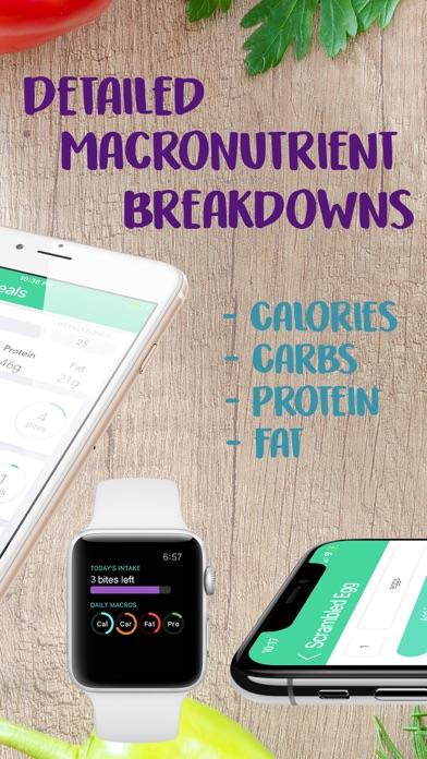 MyBites - Diet & Macro Tracker app image
