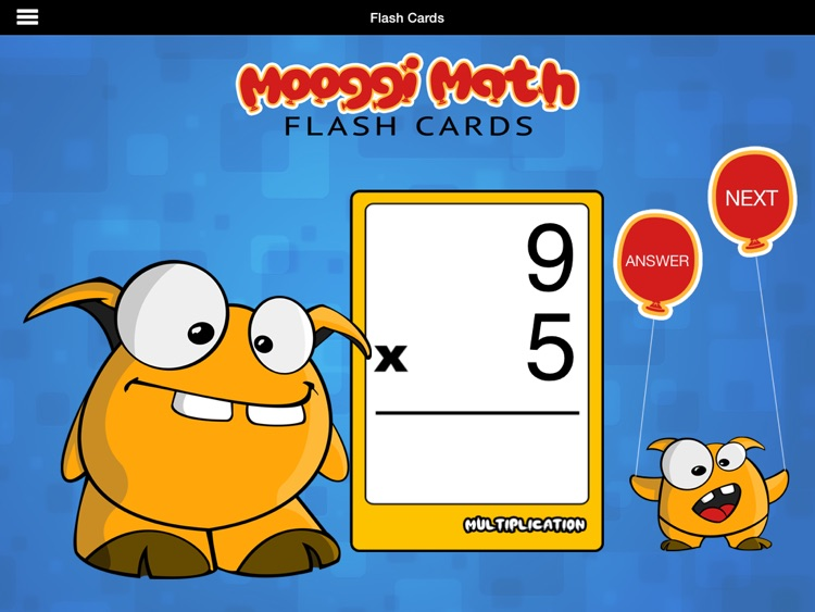Mooggi Math Flash Cards HD screenshot-2