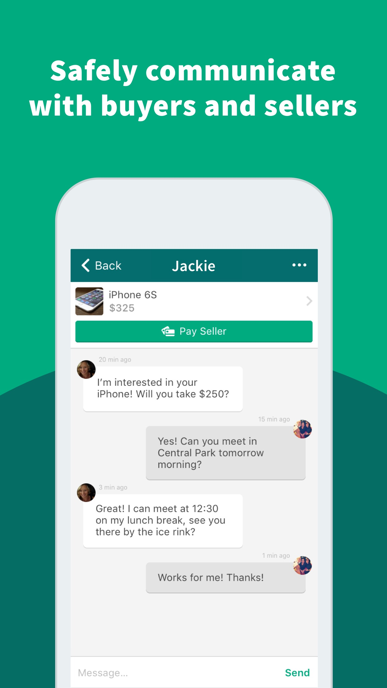 OfferUp - Buy. Sell. Simple. Screenshot