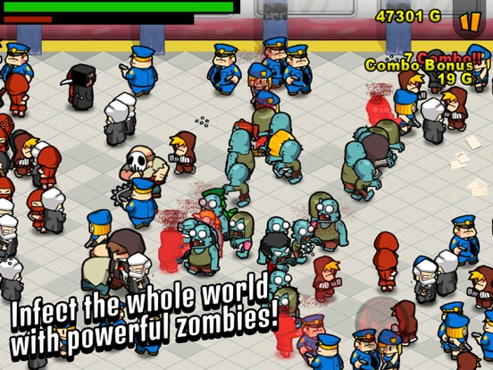 Игра Infect Them All 2 : Zombies