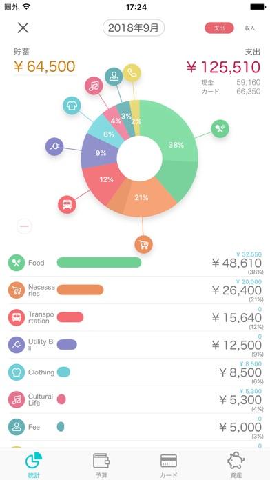 ウィプル 家計簿 - Weple Moneyスクリーンショット5