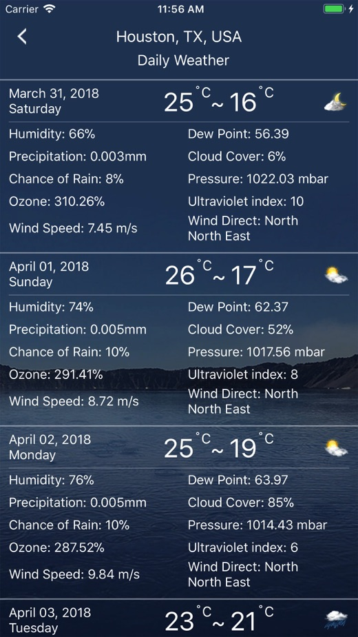 Weather : Weather forecast】版本记录- iOS App版本更新记录