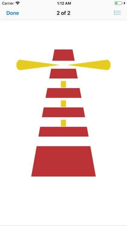Lighthouse Stickers screenshot-3