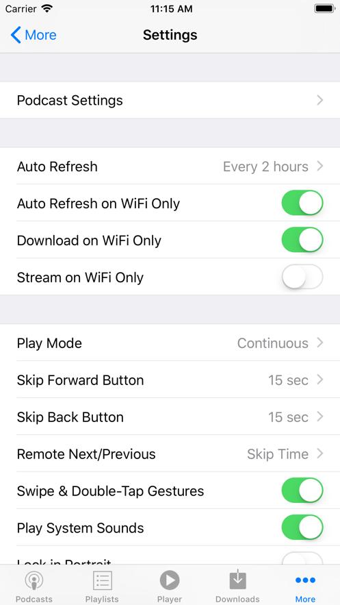 PodCruncher Podcast Player App 截图
