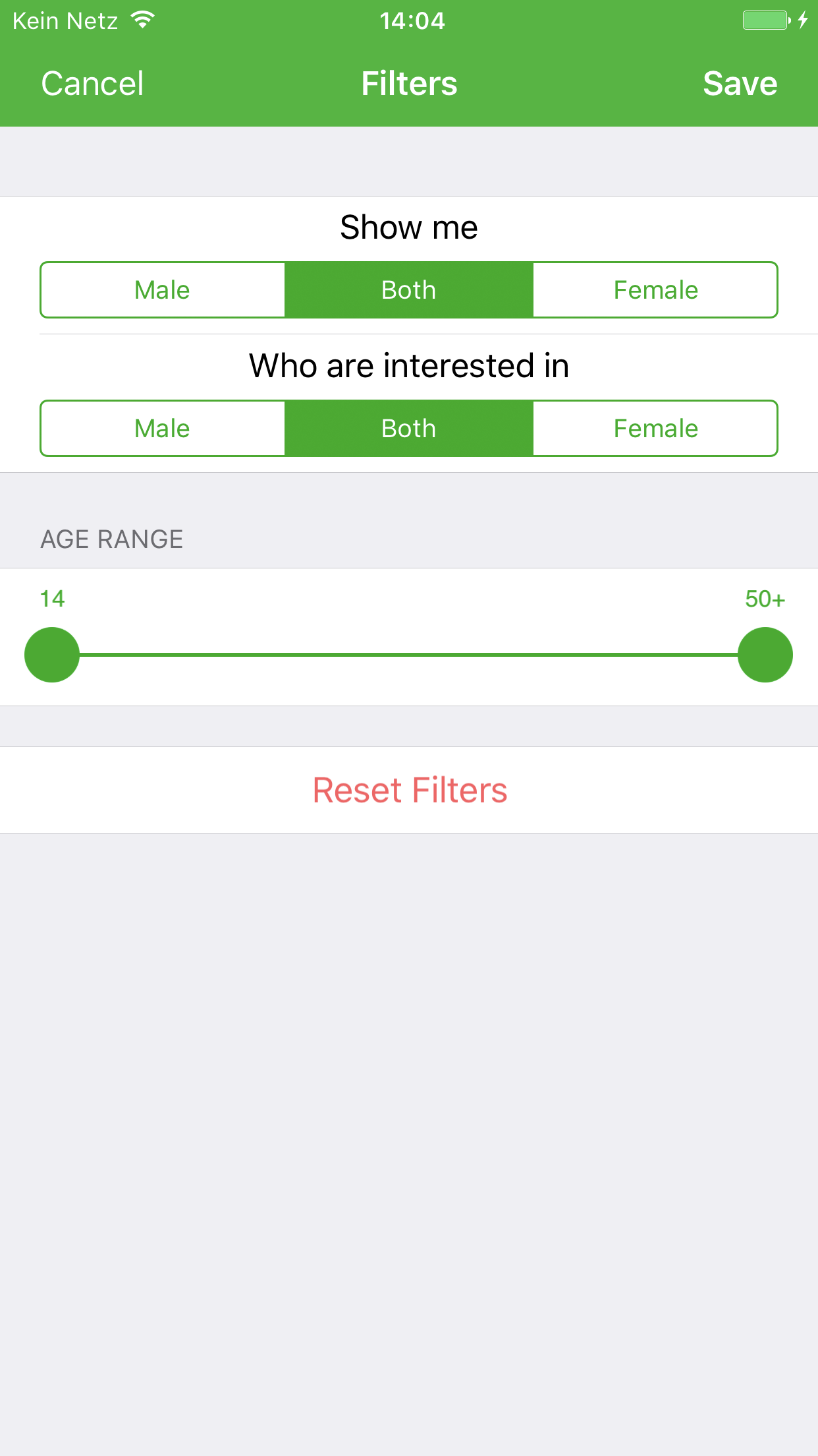 KK Friends - Kik User Search Screenshot