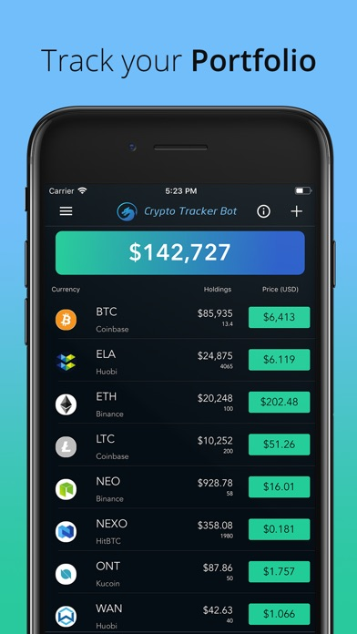 Crypto Tracker Bot Screenshot 5