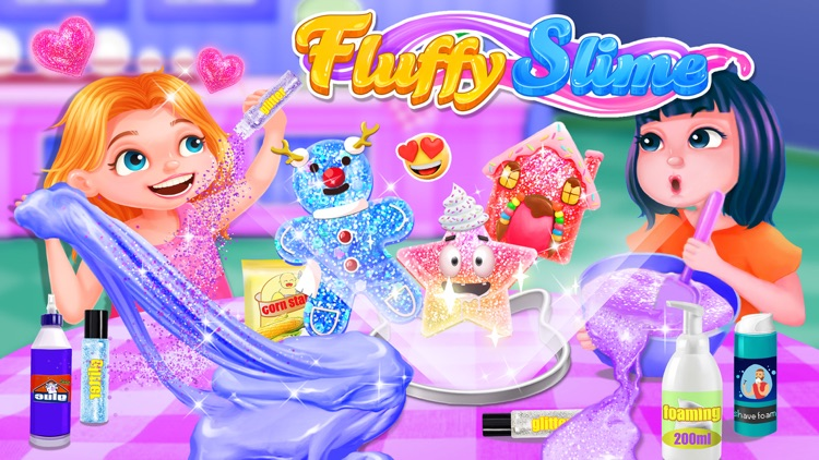 Crazy Fluffy Slime Maker
