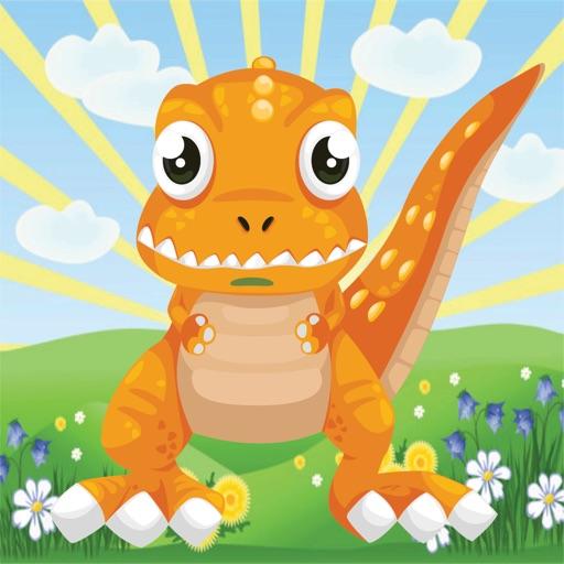 Baby Dinosaur Running Hill iOS App