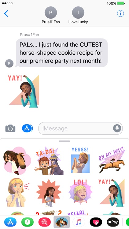 Spirit Riding Free Stickers screenshot-3