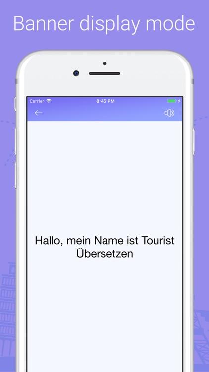 Tourist Translate World screenshot-5