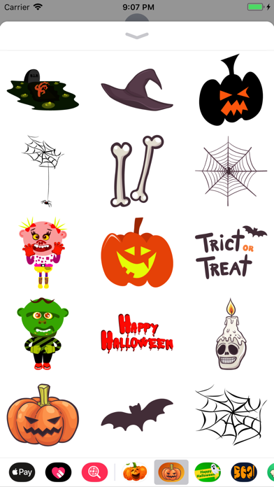 Happy Halloween Magical Emojis screenshot two