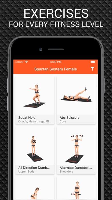 Spartan System Female... screenshot1