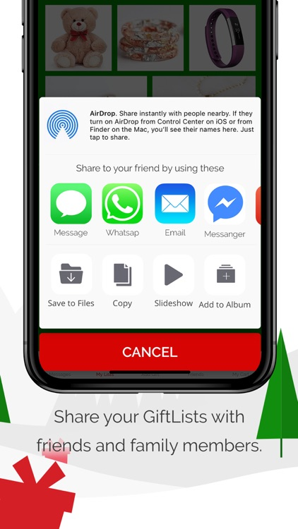 gift list a gift sharing app by grappetite