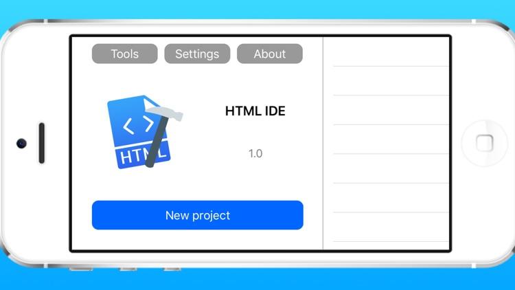 HTML IDE