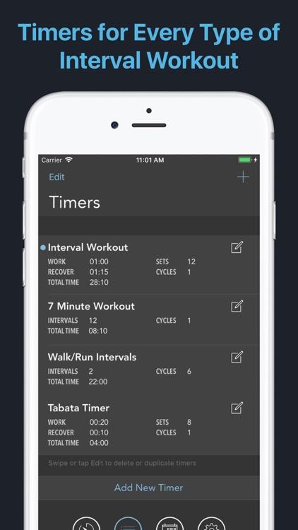 Intervals - HIIT Workout Timer screenshot-7