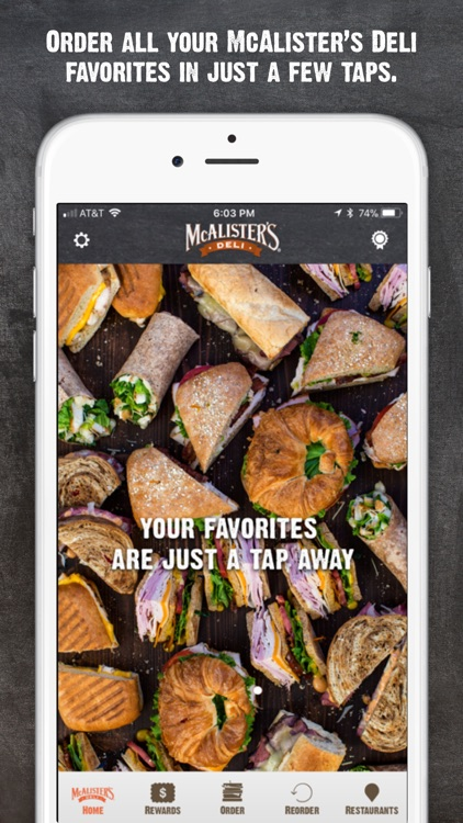 McAlisters Deli screenshot-1