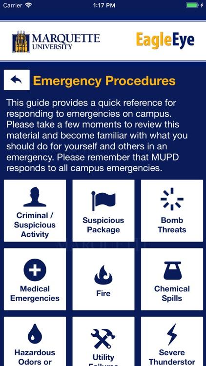 EagleEye -Marquette University screenshot-5